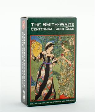 Bild på SMITH-WAITE CENTENNIAL (78-card deck, 4 sample cards & instruction booklet)