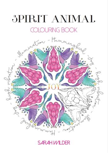 Bild på Spirit animal colouring book