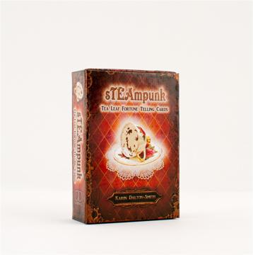Bild på Steampunk : Tea Leaf Fortune Telling Cards