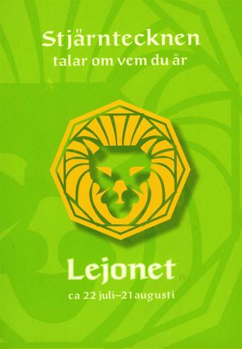 Bild på Stjärntecknen talar om vem du är : lejonet