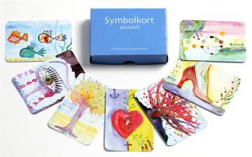 Bild på Symbolkort Akvarell - samtalskort