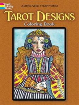Bild på Tarot Designs Coloring Book