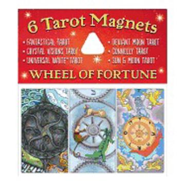 Bild på Tarot Magnets: Wheel of Fortune (package of 6)