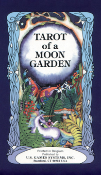 Bild på Tarot of a Moon Garden Deck
