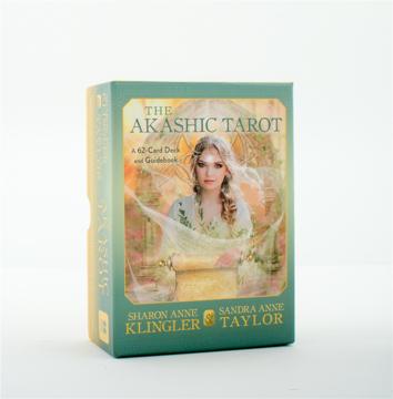 Bild på The Akashic Tarot: A 62-Card Deck and Guidebook