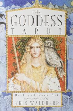 Bild på The Goddess Deck & Tarot Book Set [With Book]