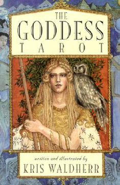 Bild på The Goddess Tarot Book