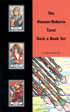Bild på The Hanson-Roberts Tarot Deck & Book Set: 78-Card Deck [With Book]