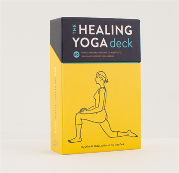 Bild på The Healing Yoga Deck: 60 Poses and Meditations to Alleviate Pain and Support Well-Being