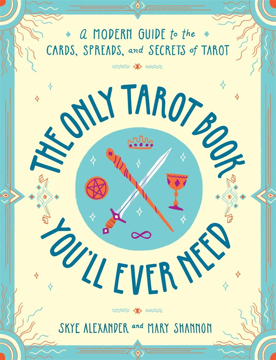 Bild på The Only Tarot Book You'll Ever Need