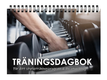 Bild på Träningsdagbok: För ditt styrketräningsprogram och din utveckling