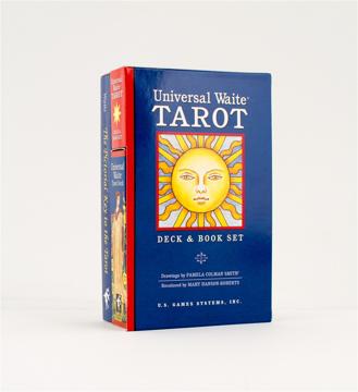Bild på Universal Waite Tarot Deck [With Book]