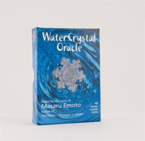 Bild på WATER CRYSTAL ORACLE (48 water crystal image cards & instruction booklet)