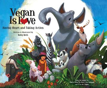 Bild på Vegan is love