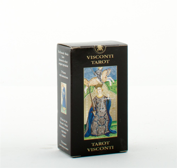 Bild på Visconti tarot mini tarot