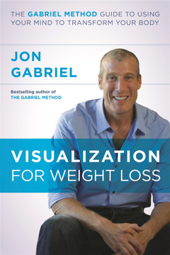 Bild på Visualization for weight loss - the gabriel method guide to using your mind