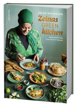 Bild på Zeinas green kitchen : gröna recept från olika delar av världen