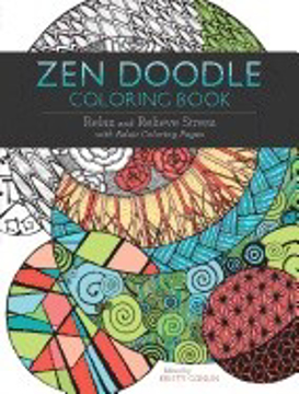 Bild på Zen doodle coloring book - relax and relieve stress with adult coloring pag