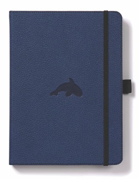 Bild på Dingbats* Wildlife A5+ Blue Whale Notebook - Plain