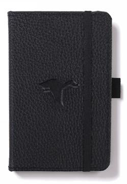 Bild på Dingbats* Wildlife A6 Pocket Black Duck Notebook - Dotted