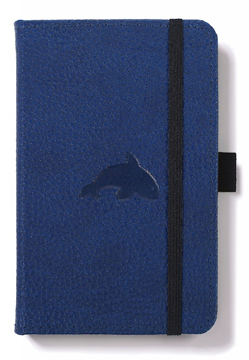 Bild på Dingbats* Wildlife A6 Pocket Blue Whale Notebook - Plain