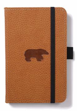 Bild på Dingbats* Wildlife A6 Pocket Brown Bear Notebook - Plain