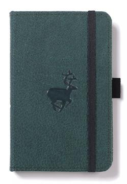 Bild på Dingbats* Wildlife A6 Pocket Green Deer Notebook - Dotted