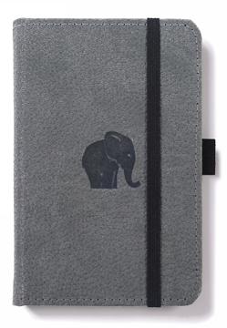 Bild på Dingbats* Wildlife A6 Pocket Grey Elephant Notebook - Graph