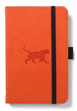 Bild på Dingbats* Wildlife A6 Pocket Orange Tiger Notebook - Graph