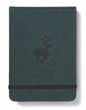 Bild på Dingbats* Wildlife A6+ Reporter Green Deer Notebook - Dotted