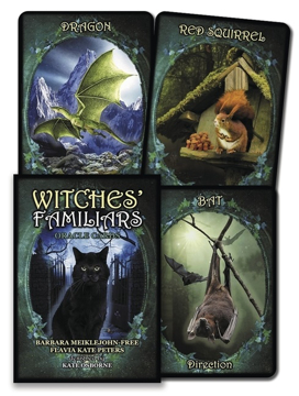 Bild på Witches' Familiars Oracle Cards