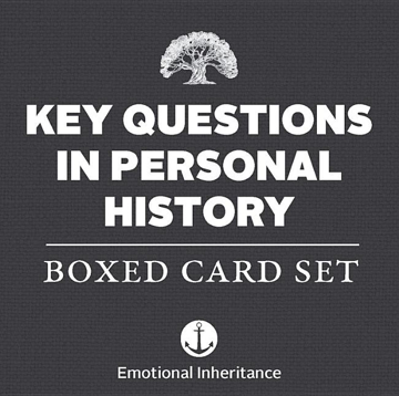 Bild på Key Questions In Personal History - Boxed Card Set
