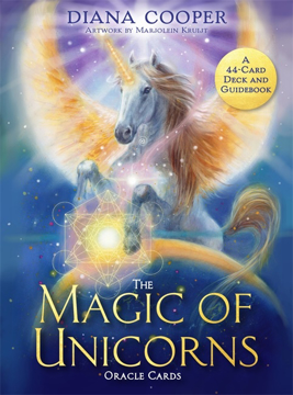 Bild på The Magic of Unicorns Oracle Cards