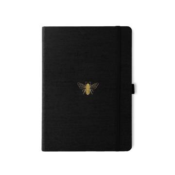 Bild på Dingbats* Pro B5 Black Bee Notebook - Plain