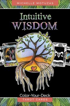 Bild på Intuitive Wisdom : Color-Your-Deck Tarot Cards