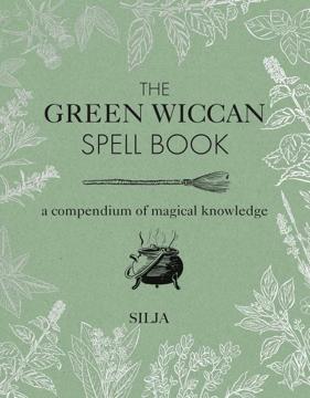 Bild på Green Wiccan Spellbook