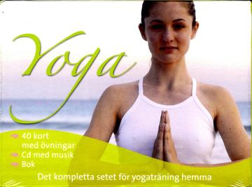 Bild på Yoga : det kompletta setet, bok, kort & CD