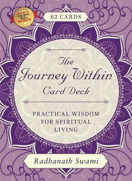 Bild på Journey within card deck - practical wisdom for spiritual living