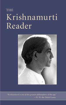Bild på Krishnamurti reader