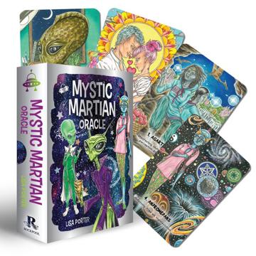Bild på Mystic Martian Oracle (40-Card Deck & 128-