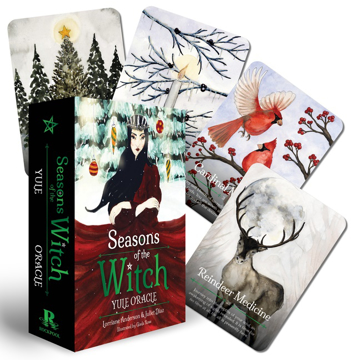 Bild på Seasons Of The Witch: Yule Oracle (44-Card